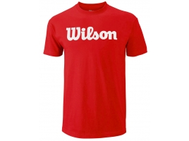 Wilson SCRIPT COTTON TEE red.jpg
