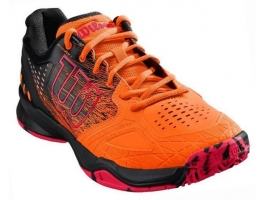 Wilson KAOS COMP shocki / black / neon red.jpg