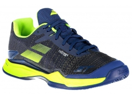 Babolat JET MACH II CLAY estate blue/fluo yellow.jpg