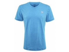Wilson TRAINING V-NECK TEE brilliant blue.jpg
