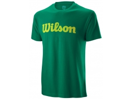 Wilson SCRIPT COTTON TEE deep green.jpg