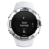 SS050300000 - SUUNTO 5 G1 WHITE - Front View_good morning in the watch.png
