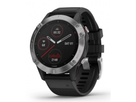 Garmin FÉNIX 6 silver, black band .jpg