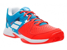 Babolat PULSION CLAY JUNIOR tomato red/blue aster.jpg