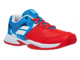 Babolat PULSION All Court Junior tomato red/blue aster.jpg