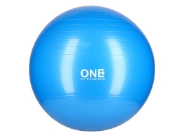 ONE FITNESS Gymnastický míč ONE Fitness Gym Ball 10 modrý, 55 cm.jpg