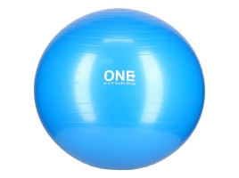 ONE FITNESS Gymnastický míč ONE Fitness Gym Ball 10 modrý, 65 cm.jpg