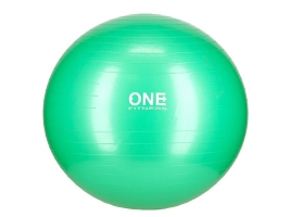 ONE FITNESS Gymnastický míč ONE Fitness Gym Ball 10 zelený, 65 cm.jpg