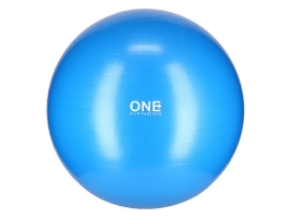 ONE FITNESS Gymnastický míč ONE Fitness Gym Ball 10 modrý, 75 cm.jpg